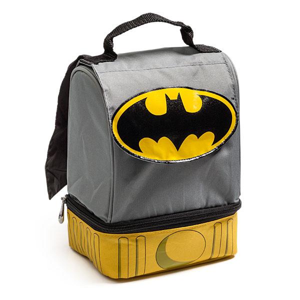 Geek Kids : Batman Lunch Bag with Cape | Carddit