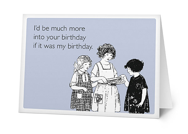 books  snarky greeting cards  carddit, Birthday card