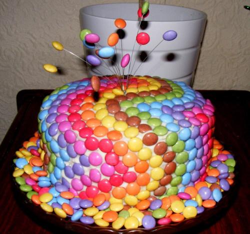 Своими руками торт на день рождения фото