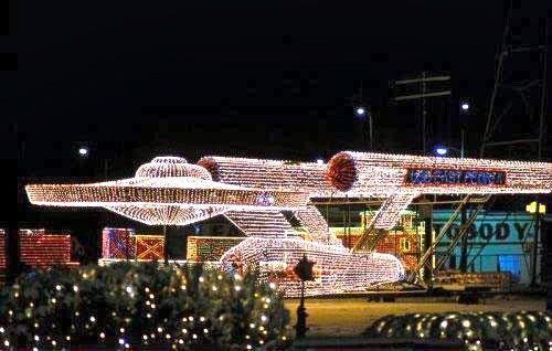 Star Trek Christmas Lights   Carddit