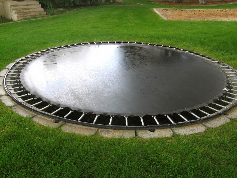 in ground trampoline carddit