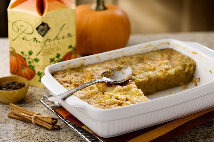 Pumpkin Cobbler | Carddit