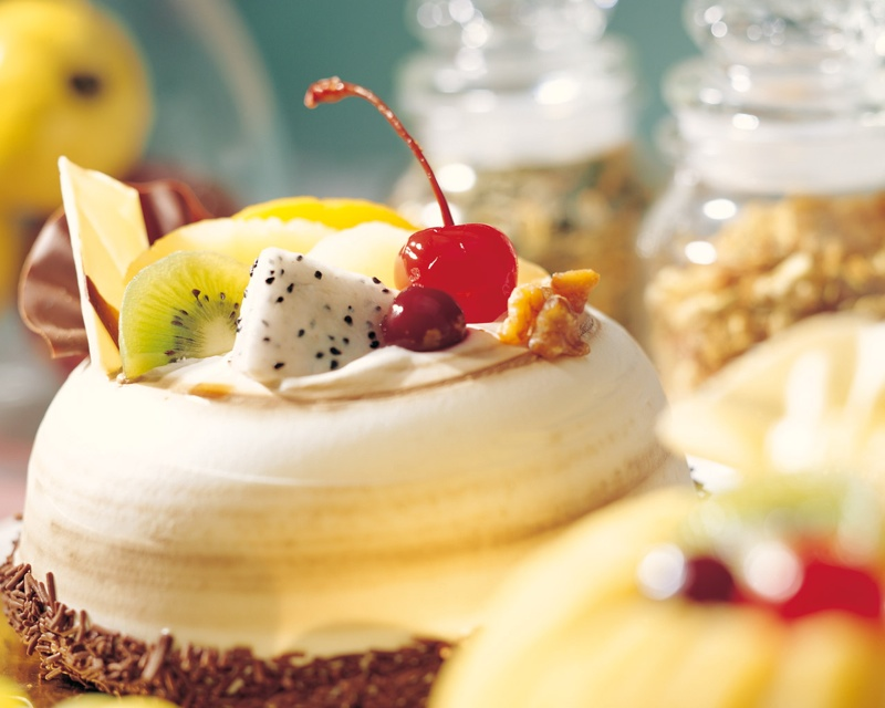 Passion Fruit Mousse Cake Carddit