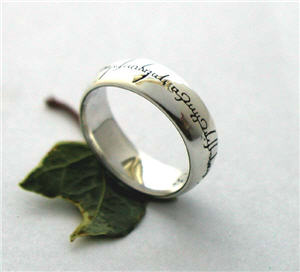 geeky wedding rings - Lotr Wedding Ring